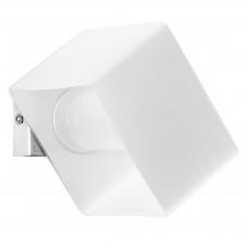 801610 (MB328-1W) Светильник настенный PEZZO 1х40W G9 хром/белый (в комплекте)